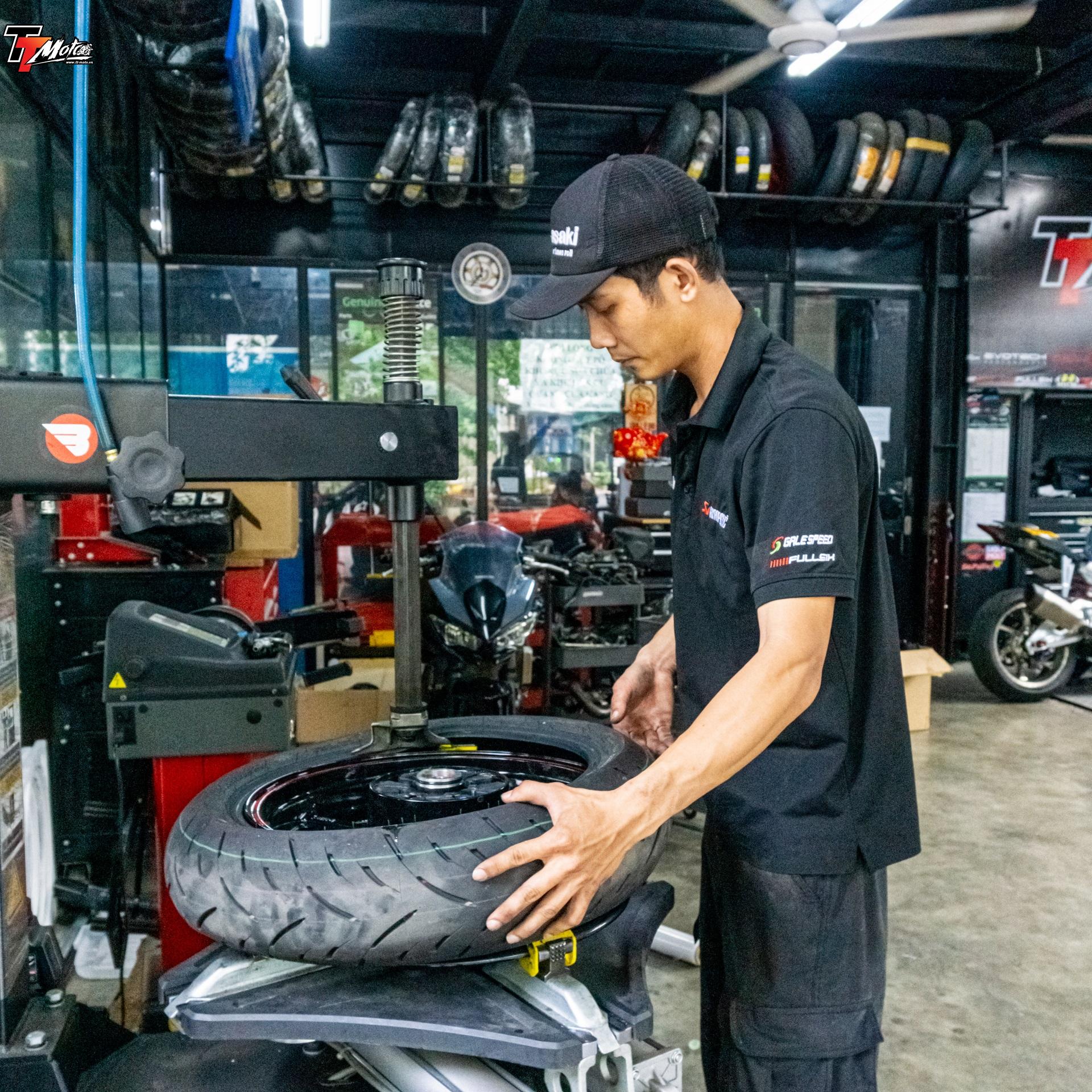 TT-Moto Service và Bảo Dưỡng cân mâm